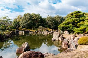Jardines castillo de Nijo