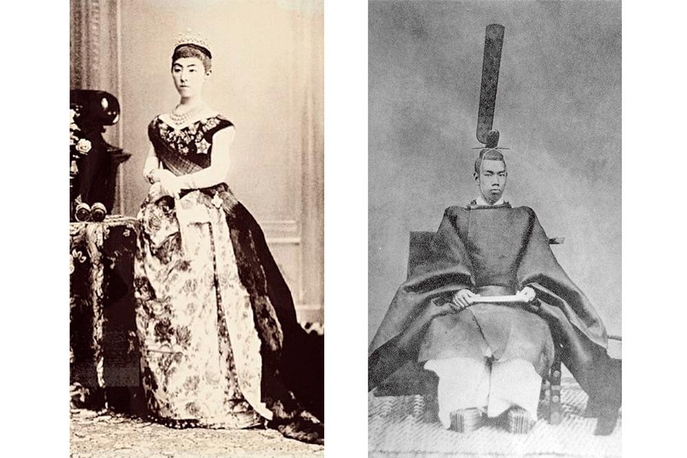 Emperador y emperatriz Meiji