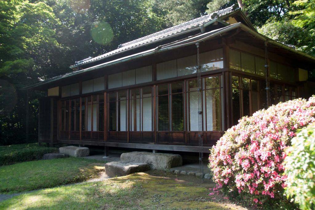 Casa de té santuario Meiji