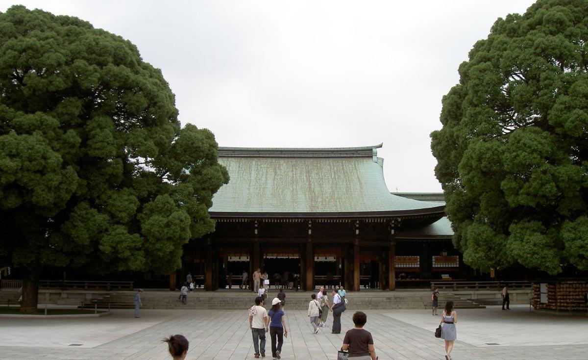 Edificio principal santuario meiji