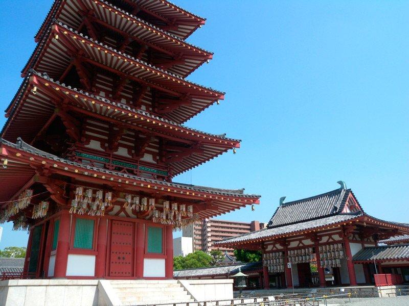 Templo-Shitennoji