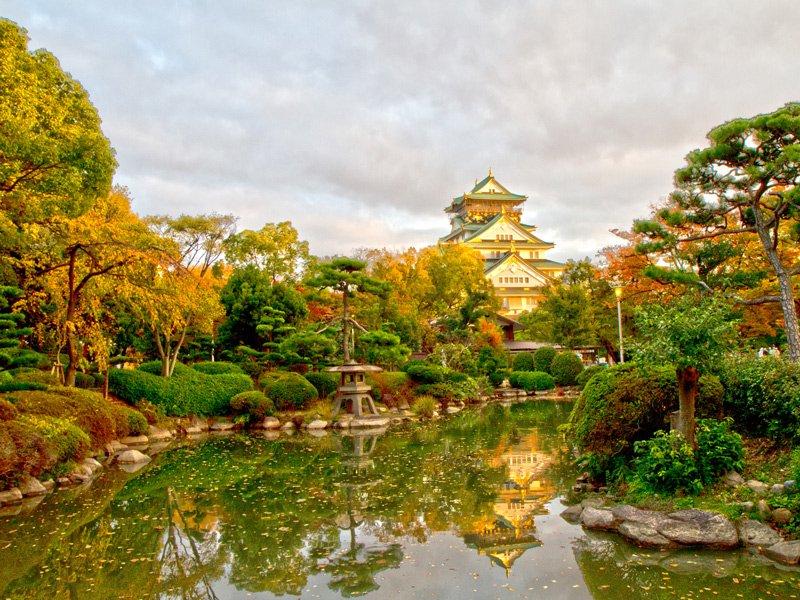 jardin-nishinnomaru-castillo-osaka