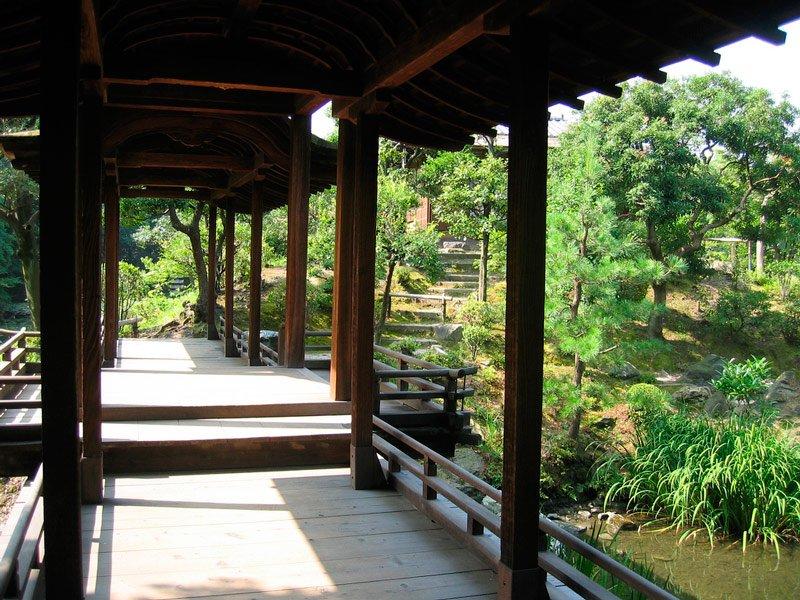 Pasarela Jardines de Shosei-en Kyoto