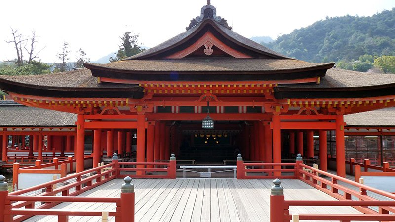 Santuario de Itsukushima en MIyajima