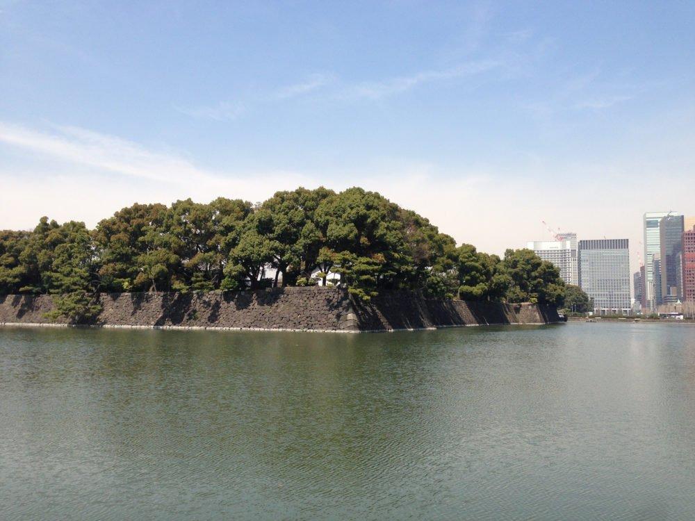 Foso del Palacio Imperial de Tokyo