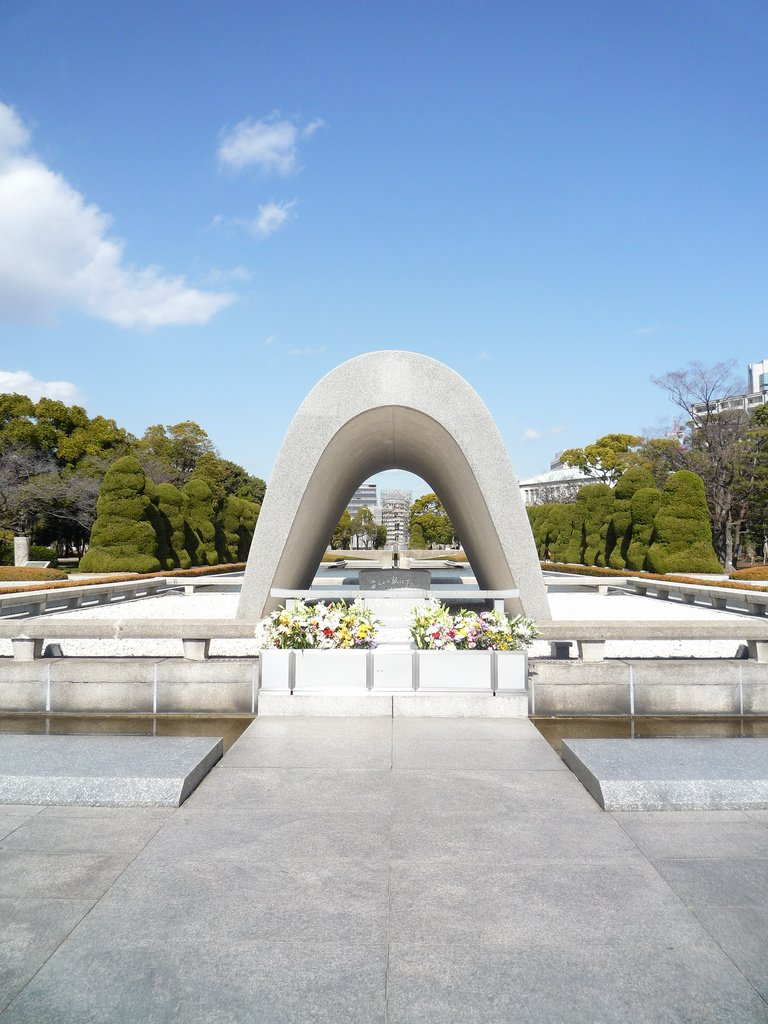 Cenotafio en Memoria de las Víctimas de la Bomba Atómica