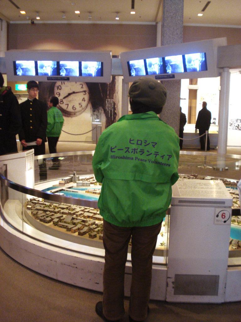 Voluntaria Museo Paz Hiroshima