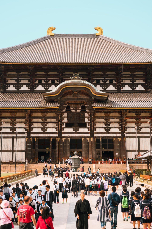 Templo Todaiji en Nara, Japón