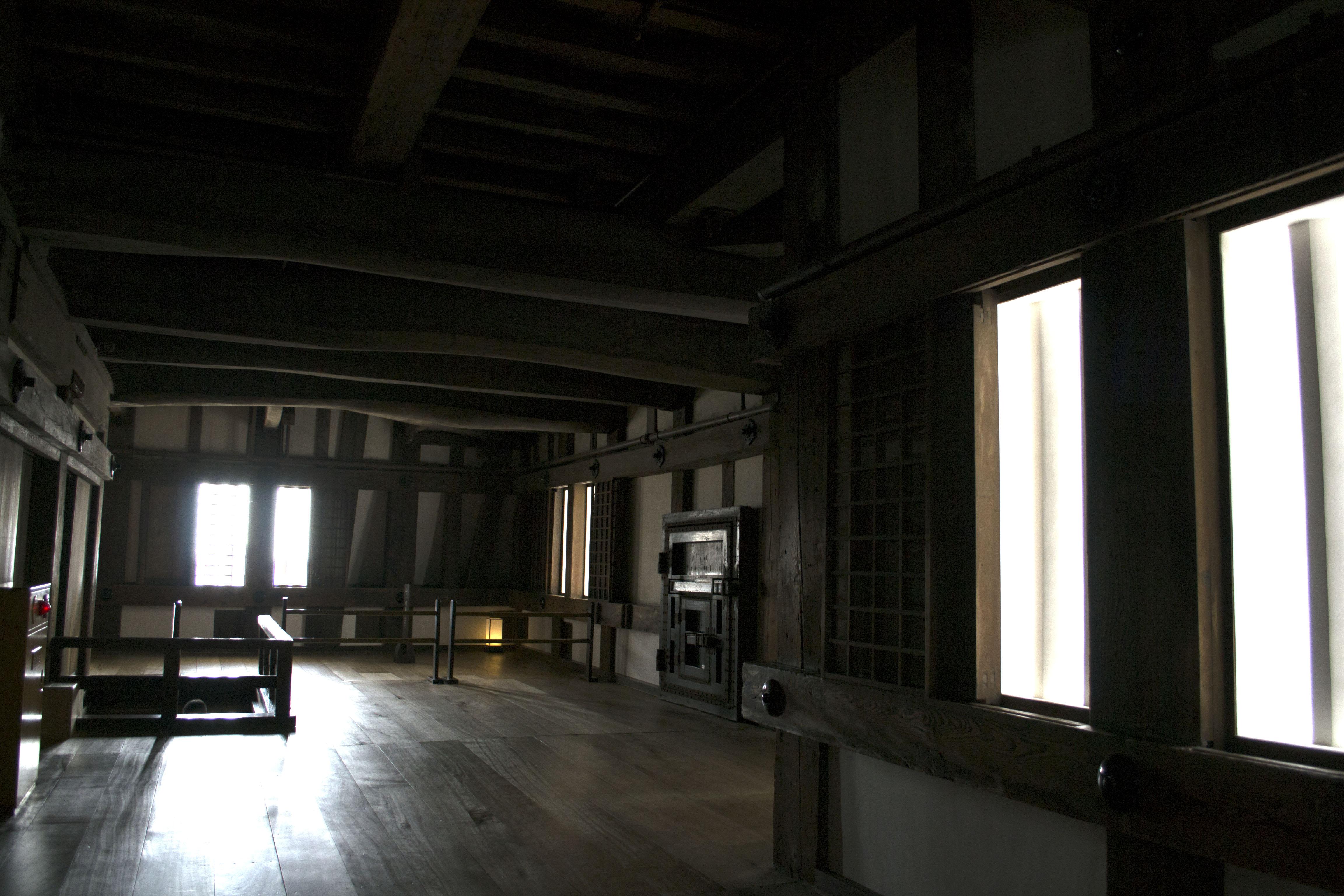 Interior del Castillo de Himeji