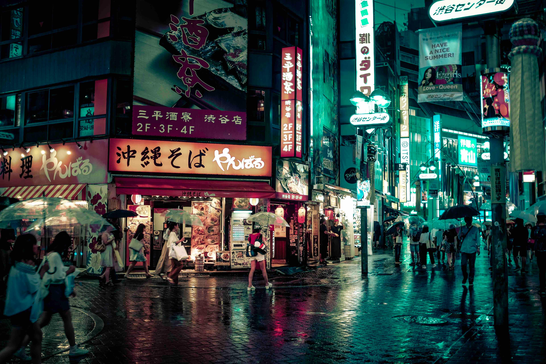 Mi primera noche surrealista en Japón
