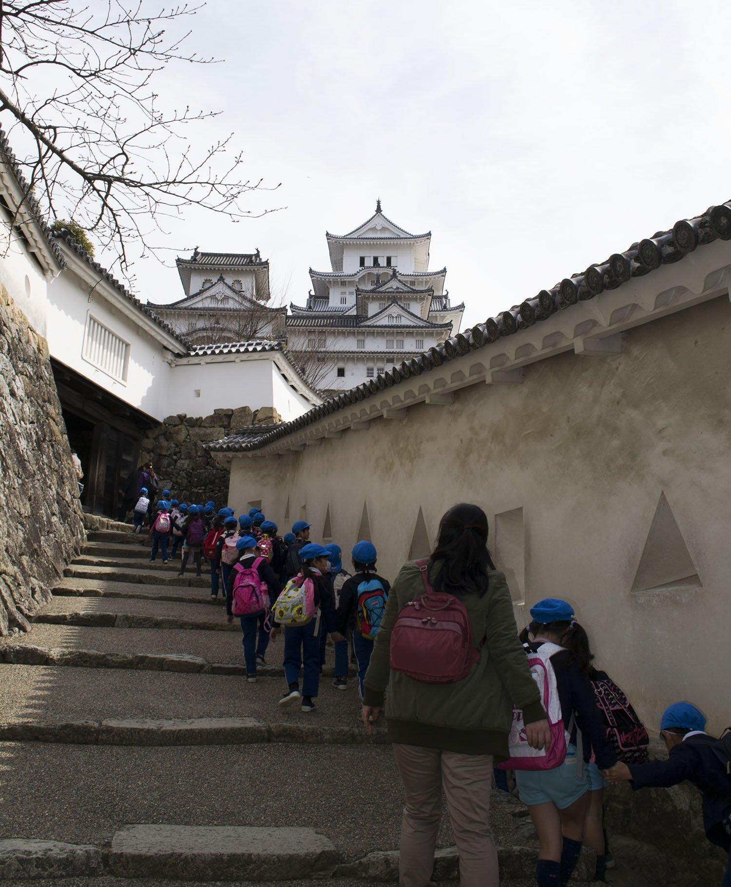 Pasillos del Castillo de Himeji
