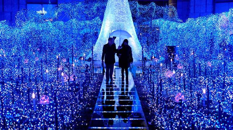 Iluminacion navidad Tokyo