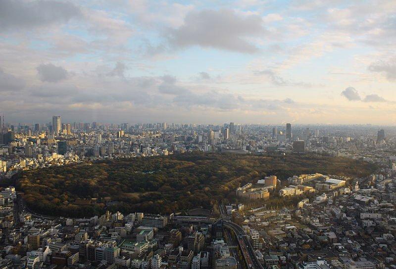 Vista aérea de Yoyogi