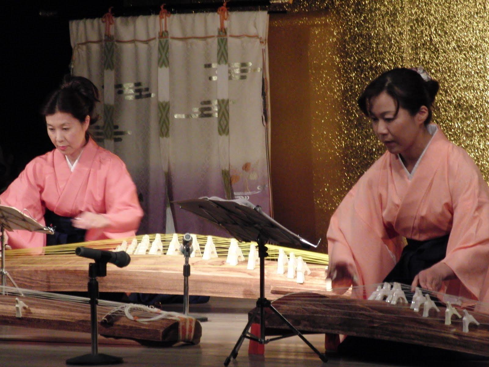 Actuación en el tsukimi