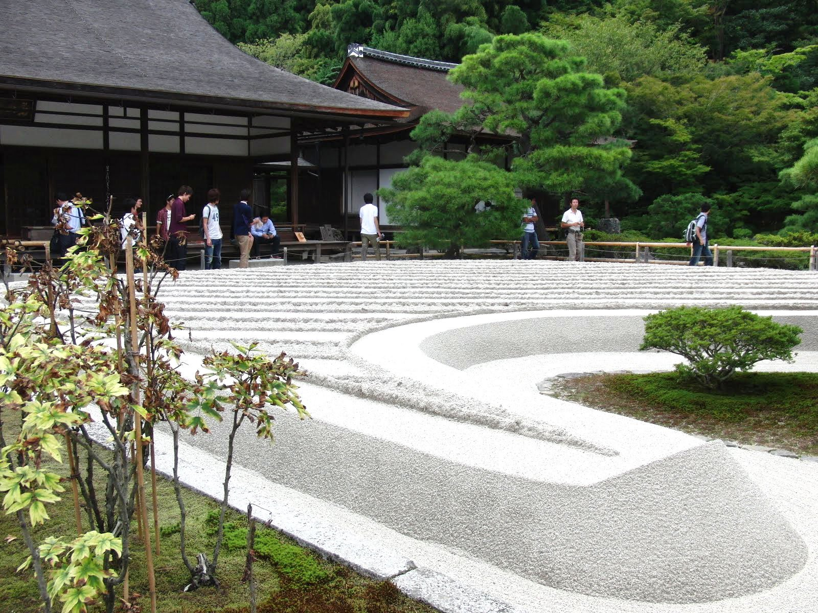 Jardines Templo de Plata en Kyoto