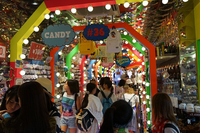 Tienda en Takeshita-dori