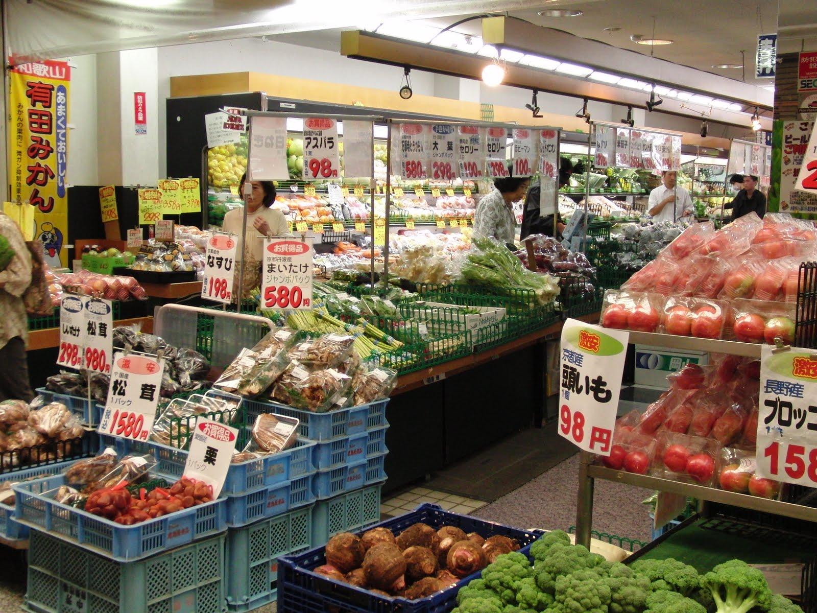 El comercio japonés- supermercado