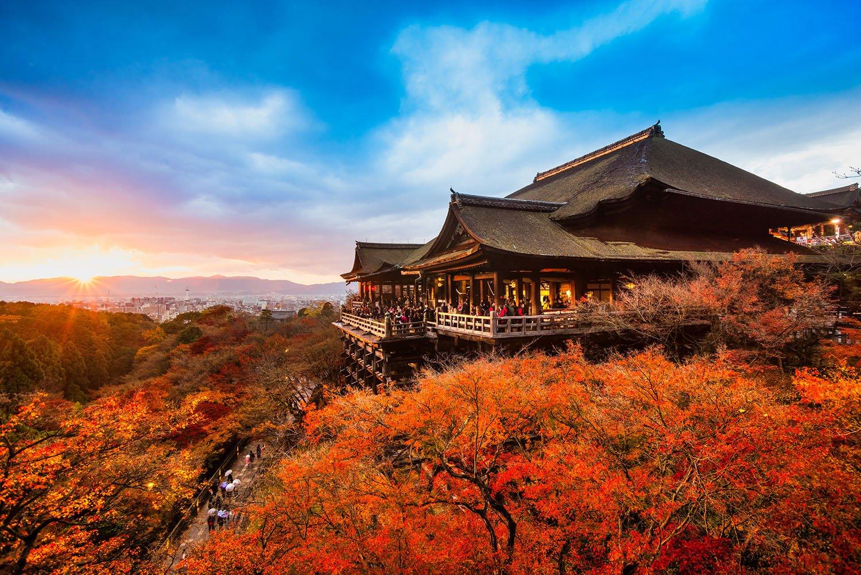 El Kiyomizudera y sus impresionantes vistas de Kioto