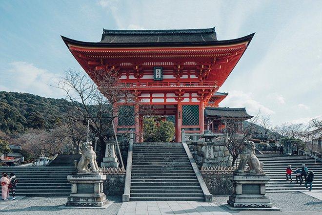 Puerta principal Kiyomizudera