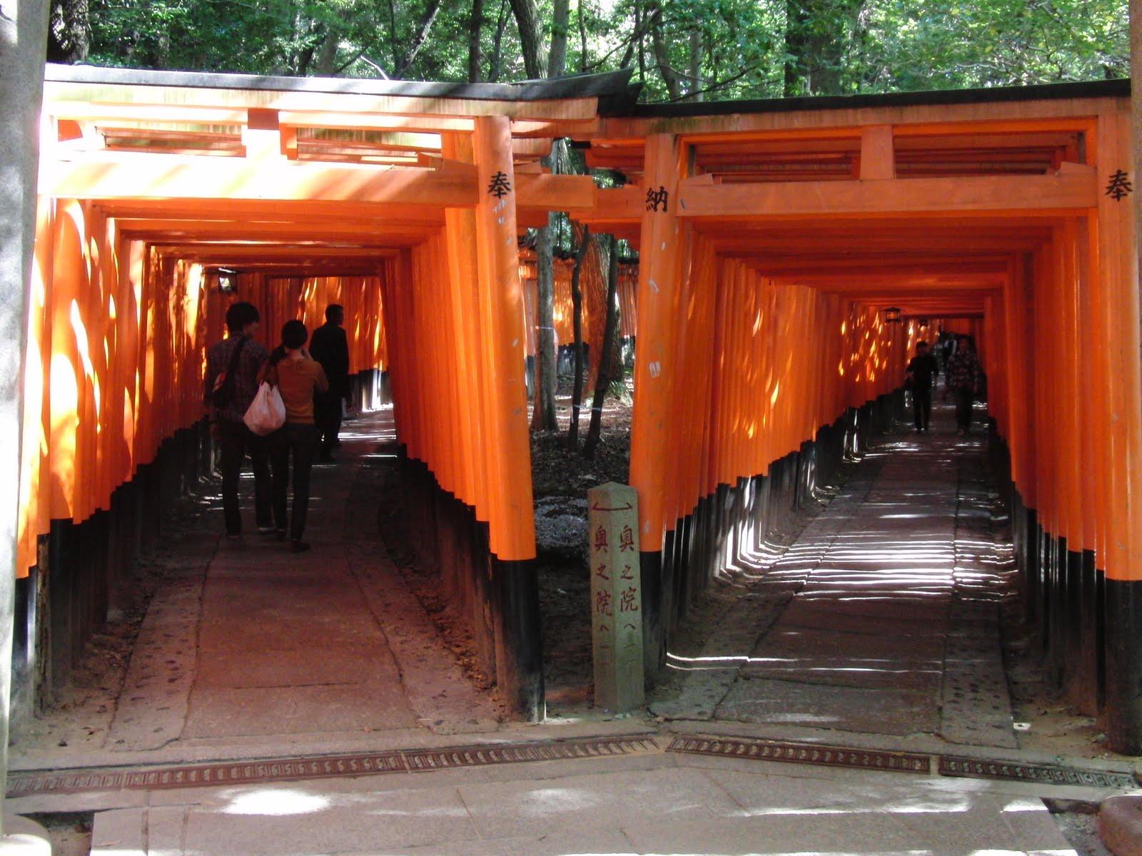 Fushimi Inari en el tour por Kioto