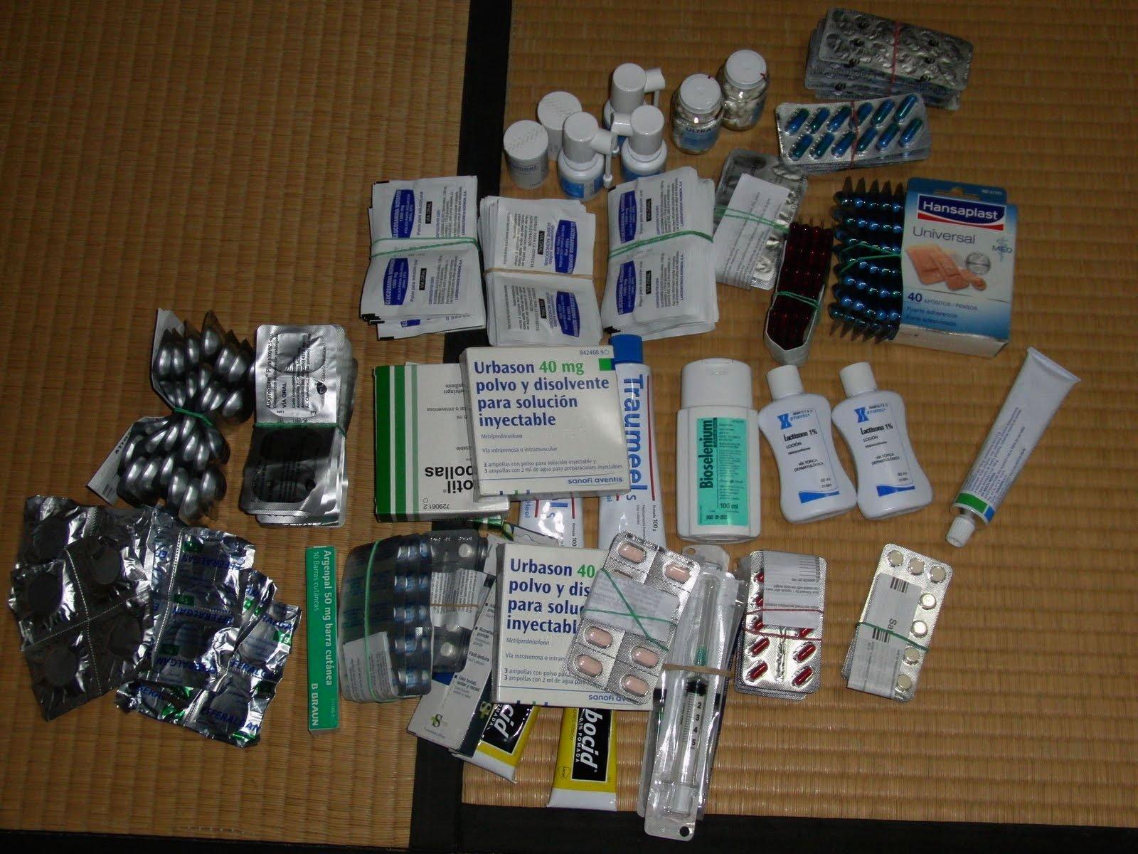 Medicamentos en Japón