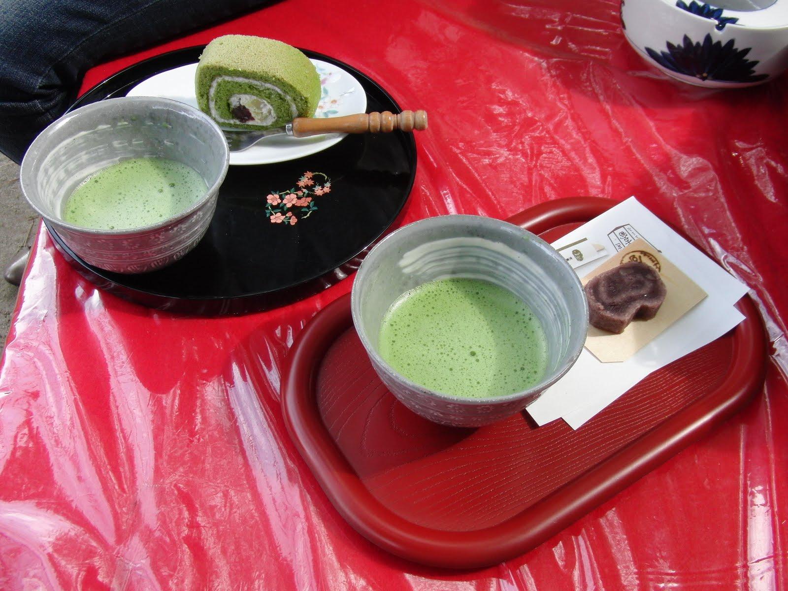 Té en el tour por Kioto