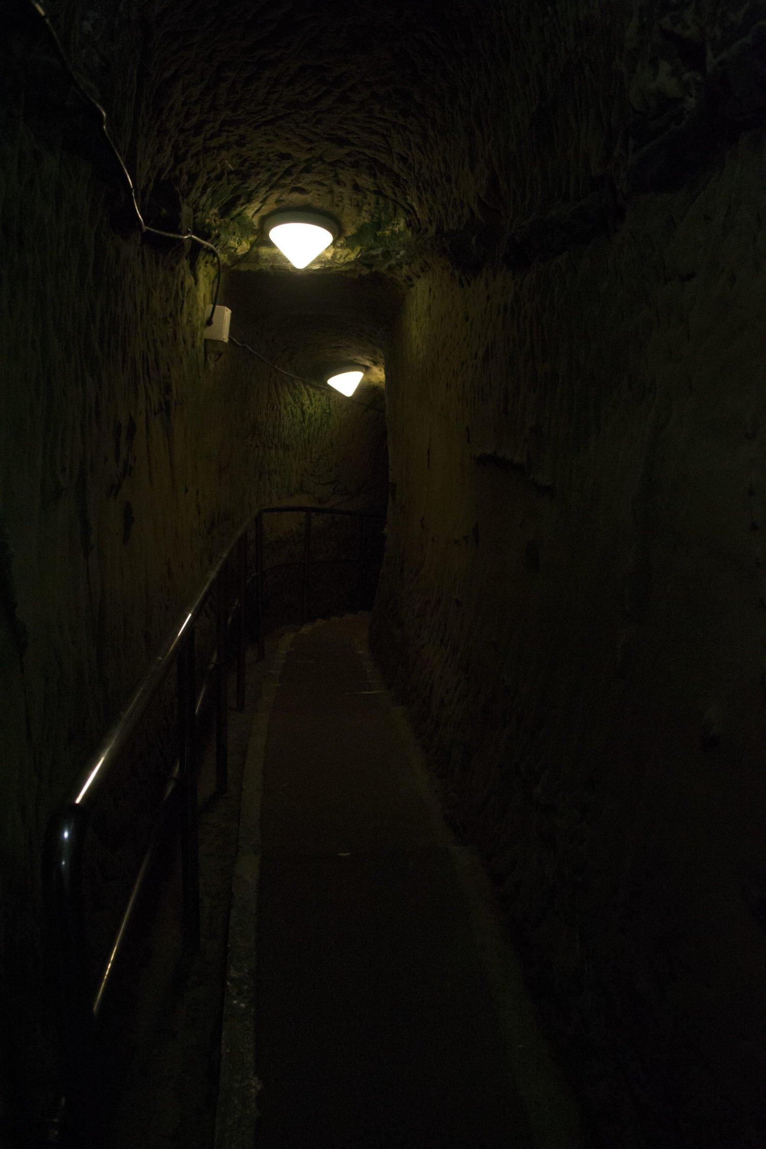 Cuartel subterráneo en Naha