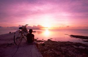 Atardecer en zamami, Okinawa