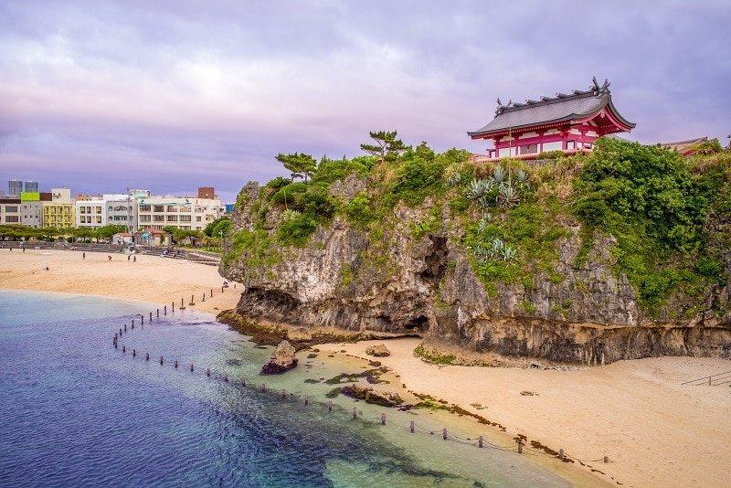 Santuario Naminoue, en Naha, Okinawa