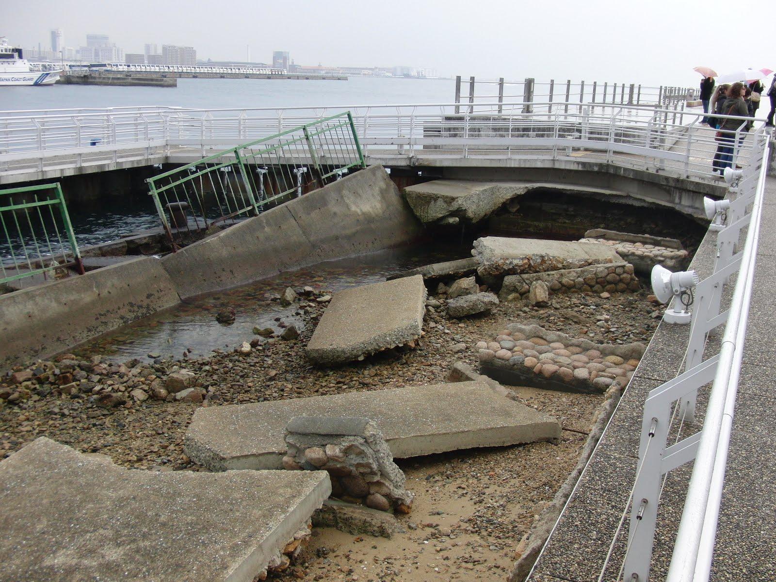 Puerto de Kobe tras el terremoto-3