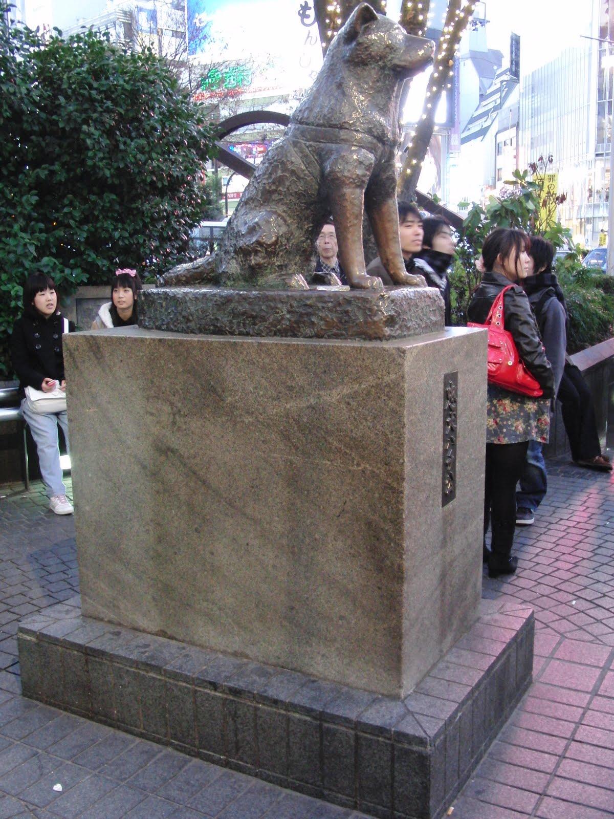 Estatua de Hachiko-Tokio