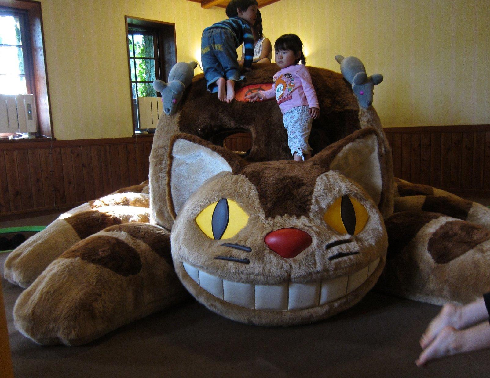 Gato-bus Museo Ghibli
