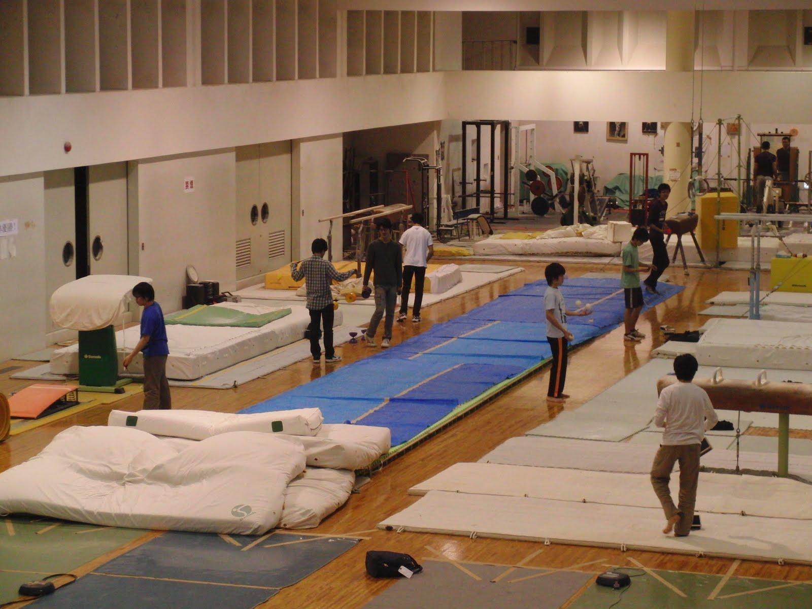 Pabellón deportivo universidad de Kyodai