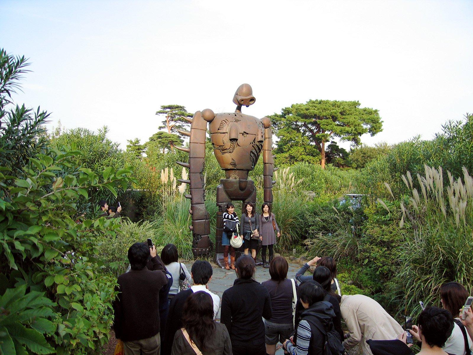 Robot museo Ghibli