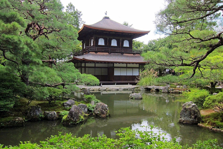 Ginkakuji, al norte de HIgashiyama