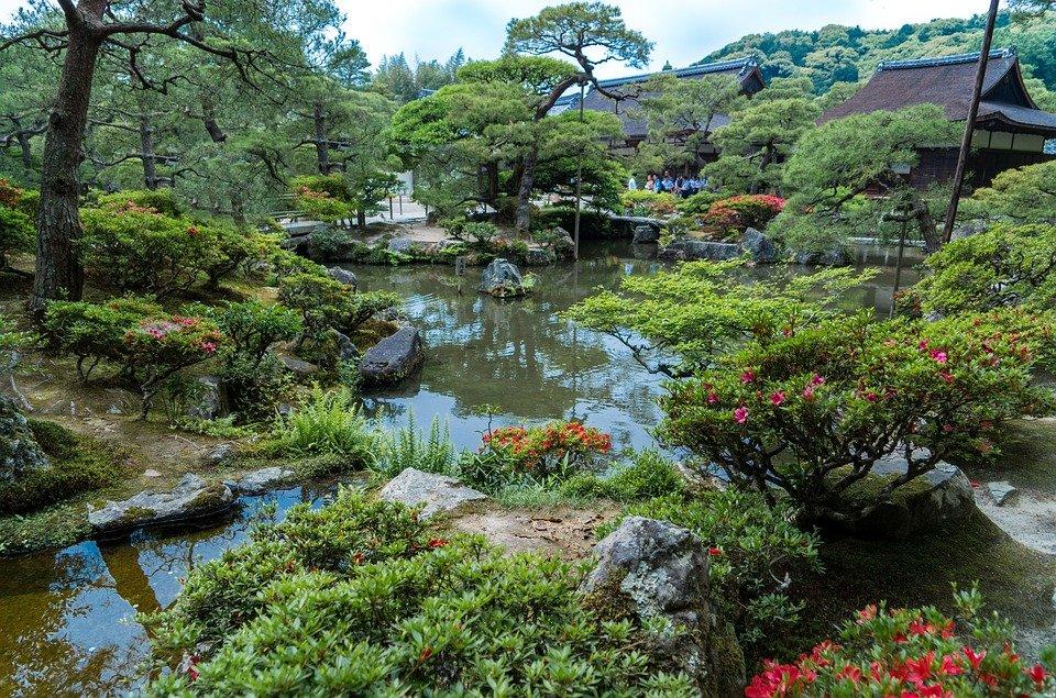 Jardines del Ginkakuji de Kioto