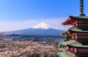 Pagoda chureito Fuji