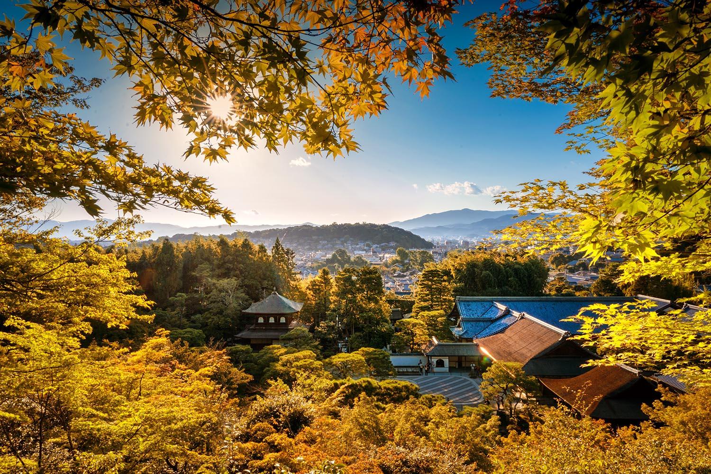 Vistas de Kyoto-