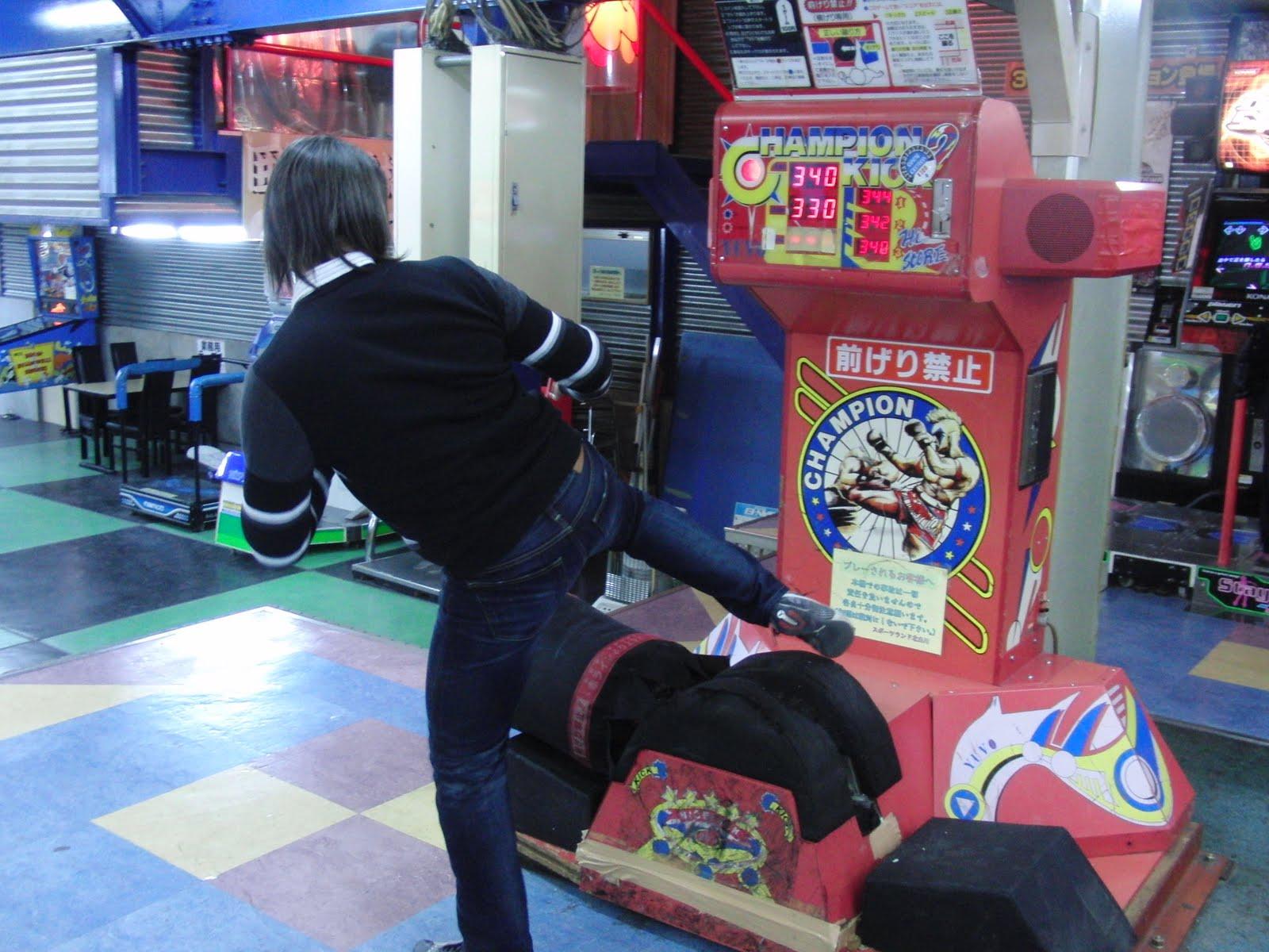 Máquina de patada lateral