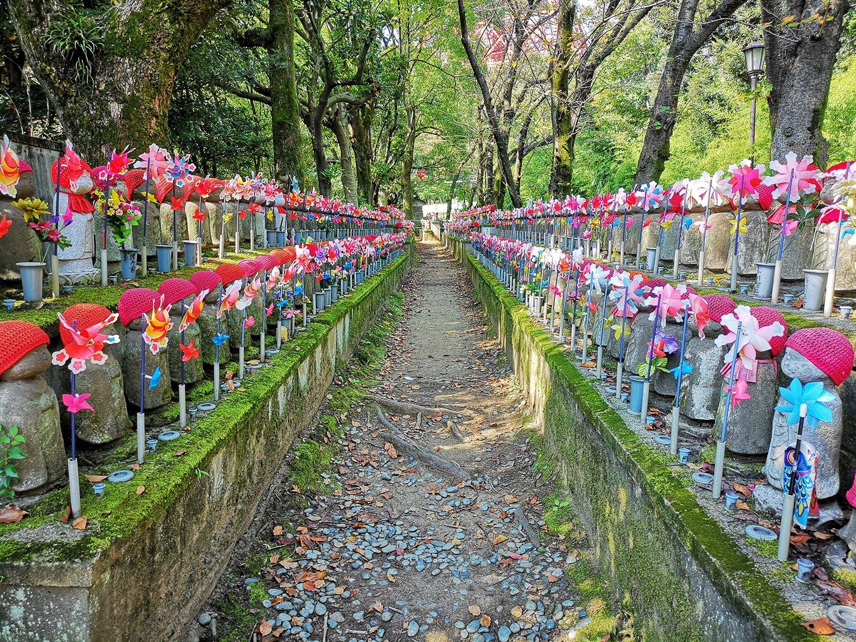 Camino jizo en el santuario Kumano