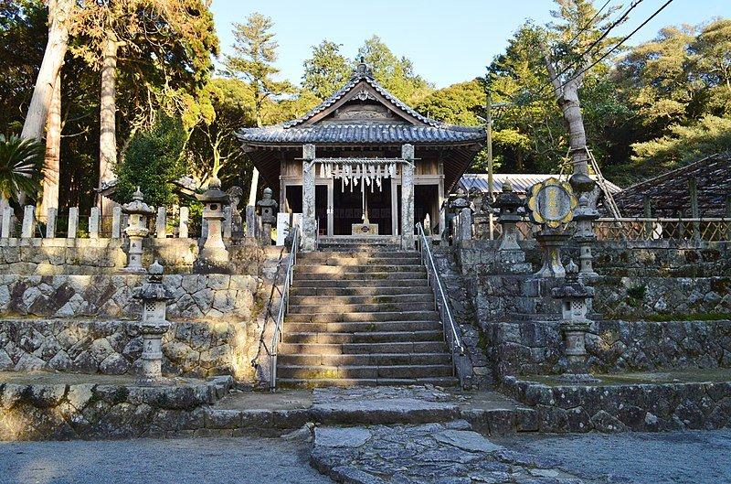 Santuario Takasu en Itoshima