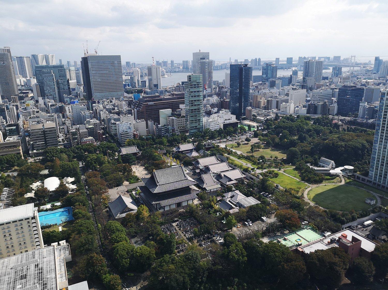 Templo Zojoji en Tokyo