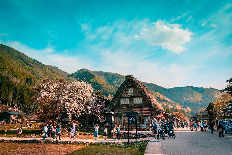 Casas gassho-zukuri en Shirakawa