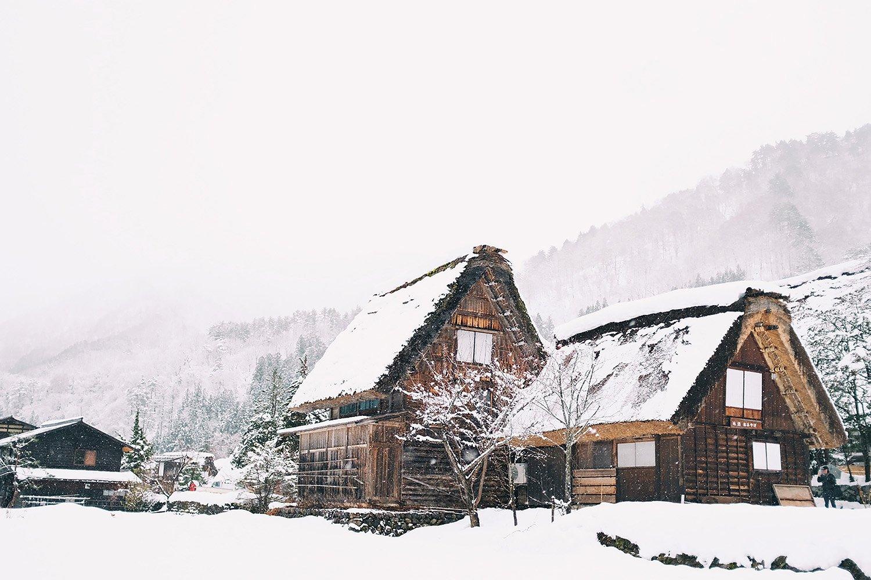 Las casas tradicionales gassho-zukuri