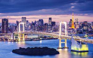 Puente en Tokyo