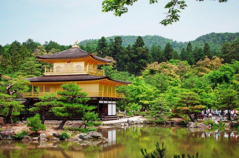 Templo dorado-Kyoto