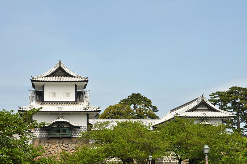 Castillo-de-Kanazawa- Viaje al Japón Feudal