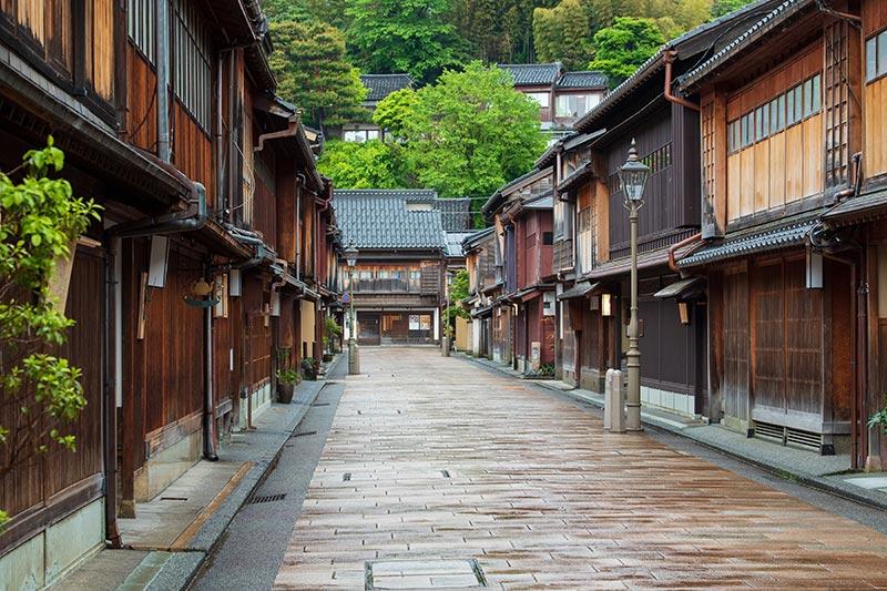 Distrito-Higashi-Chaya-Gai-en-Kanazawa