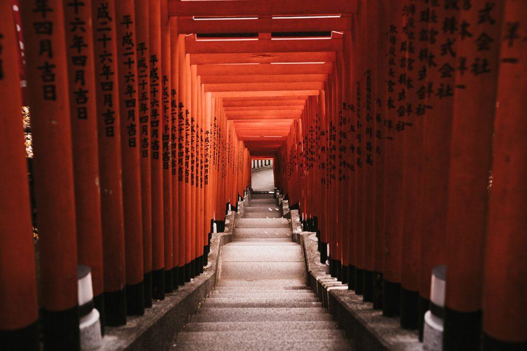 Camino de toriis de Hie Jinja, Tokyo