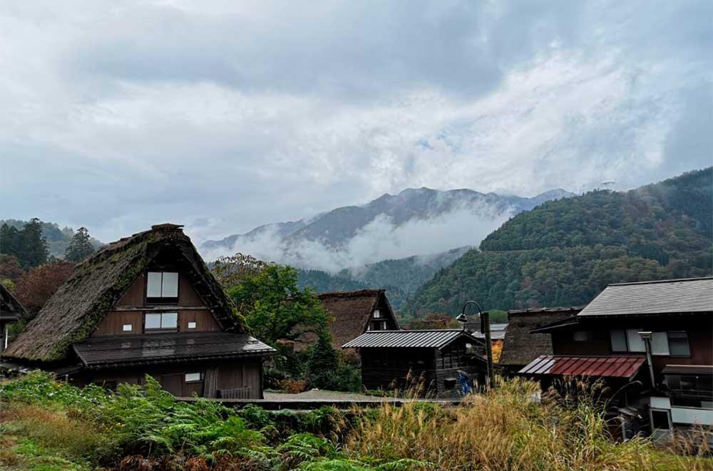 Aldeas tradicionales en los alpes japoneses